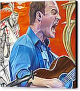 Dave Matthews The Last Stop Canvas Print by Joshua Morton