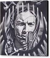 David Gilmour Of Pink Floyd - Echoes Canvas Print by Sean Connolly