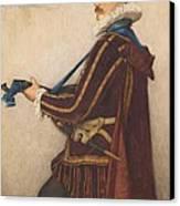 David Rizzio Canvas Print by Sir James Dromgole Linton
