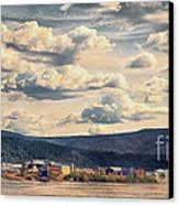 Dawson City Canvas Print by Priska Wettstein