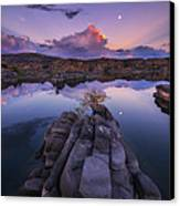 Days End Canvas Print by Peter Coskun