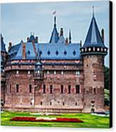 De Haar Castle. Utrecht. Netherlands Canvas Print by Jenny Rainbow