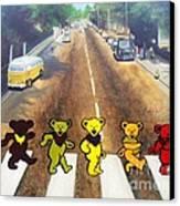 Dead On Abbey Road Canvas Print by Jen Santa