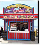Deep Fried Hostess Twinkies At The Santa Cruz Beach Boardwalk California 5d23689 Canvas Print by Wingsdomain Art and Photography