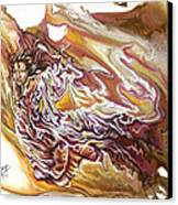 Defiance Canvas Print by Karina Llergo Salto