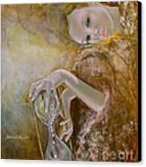 Deja Vu Canvas Print by Dorina  Costras