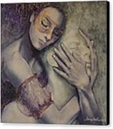 Delusion Canvas Print by Dorina  Costras
