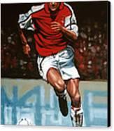 Dennis Bergkamp Canvas Print by Paul Meijering