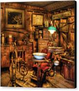 Dentist - The Dentist Office Canvas Print by Mike Savad