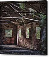 Derelict Building Canvas Print by Amanda Elwell