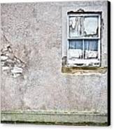 Derelict Window Canvas Print by Tom Gowanlock