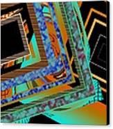 Design Texture And Color Canvas Print by Mario Perez