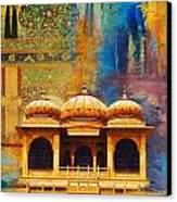 Detail Of Mohatta Palace Canvas Print by Catf