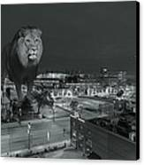 Detroit Lions Canvas Print by Nicholas  Grunas
