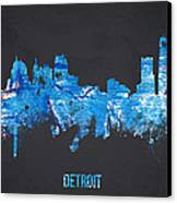 Detroit Michigan Usa Canvas Print by Aged Pixel
