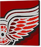 Detroit Red Wings Canvas Print by Tony Rubino