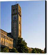 Deutsches Museum Munich - Meteorological Tower Canvas Print by Christine Till