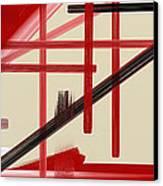 Different Dimensions 9 Canvas Print by Arie Van der Wijst