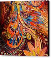 Diptych The Moments Of Love Part II Canvas Print by Elena Kotliarker