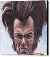 Dirty Hairy Canvas Print by Mark Tavares