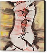 Divine Love Series No. 1412 Canvas Print by Ilisa  Millermoon