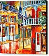 Divine New Orleans Canvas Print by Diane Millsap