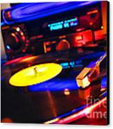 Dj 's Delight Canvas Print by Olivier Le Queinec
