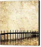 Dock 2 Canvas Print by Skip Nall