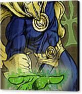 Doctor Fate Canvas Print by John Ashton Golden