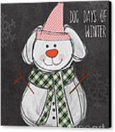 Dog Days  Canvas Print by Linda Woods