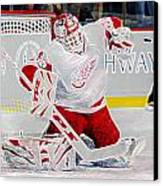 Dominic Hasek Canvas Print by Don Olea