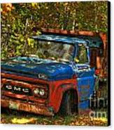 Done Hauling  Canvas Print by Alana Ranney