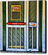 Doorway To The Past Canvas Print by Kenny Francis