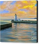 Dover Evening Canvas Print by Michael Swanson