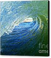 Down The Tube Canvas Print by Paul Topp