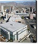 Downtown Salt Lake City Canvas Print by Bill Cobb