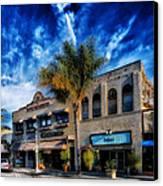Downtown Ventura Canvas Print by Mountain Dreams