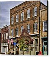 Dowtown General Store Canvas Print by Heather Applegate