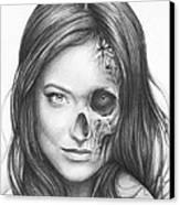 Dr. Hadley Thirteen - House Md Canvas Print by Olga Shvartsur
