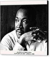 Dr. Martin Luther King Jr. Canvas Print by David Bearden
