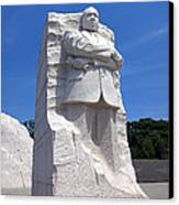 Dr Martin Luther King Memorial Canvas Print by Olivier Le Queinec