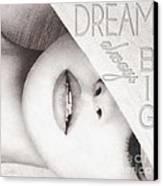 Dream Big Canvas Print by Mo T
