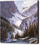 Dream Lake Canvas Print by Bonnie Bowne