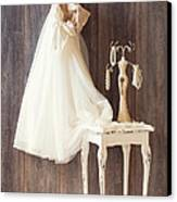 Dress Canvas Print by Amanda And Christopher Elwell