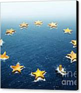 Drifting Europe Canvas Print by Carlos Caetano