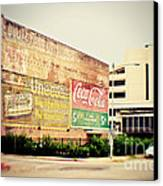 Drink Coca Cola Canvas Print by Scott Pellegrin