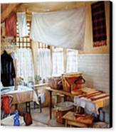 Dry Cleaner - The Laundry Room Canvas Print by Mike Savad