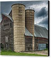 Dual Silos Canvas Print by Paul Freidlund