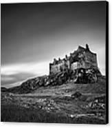 Duart Castle Canvas Print by Dave Bowman
