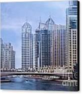Dubai Marina Canvas Print by Jelena Jovanovic